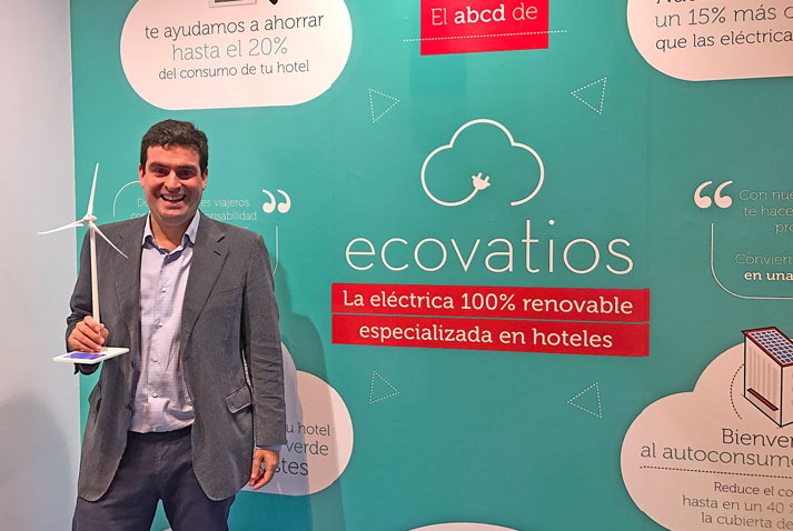 Carlos García, Director General de ecovatios, energía verde